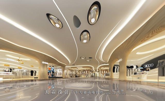 商场装修图片 第五时尚艺术莞中庭设计效果图