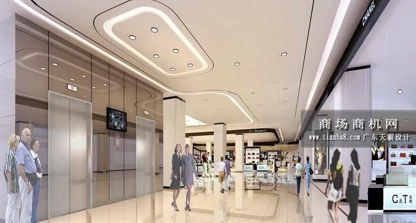 天霸设计 天霸设计分享城市综合体室内设计效果图 联商博客