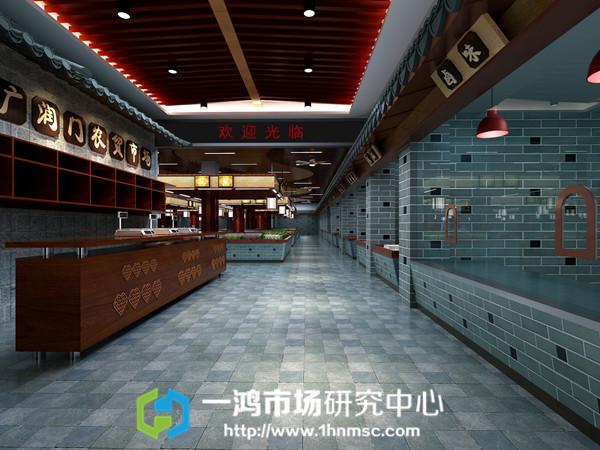一鸿农贸市场设计:杭州丁桥供销社农贸市场设计效果