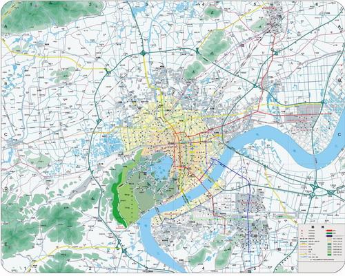杭州地铁规划及站点分布