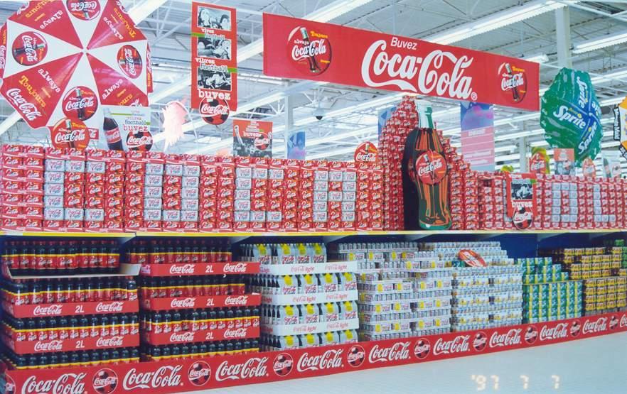 超市堆头创意陈列图片_超市堆头创意陈列图片图片