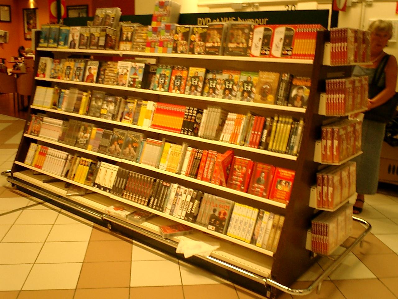 法国家乐福超市装修及商品陈列