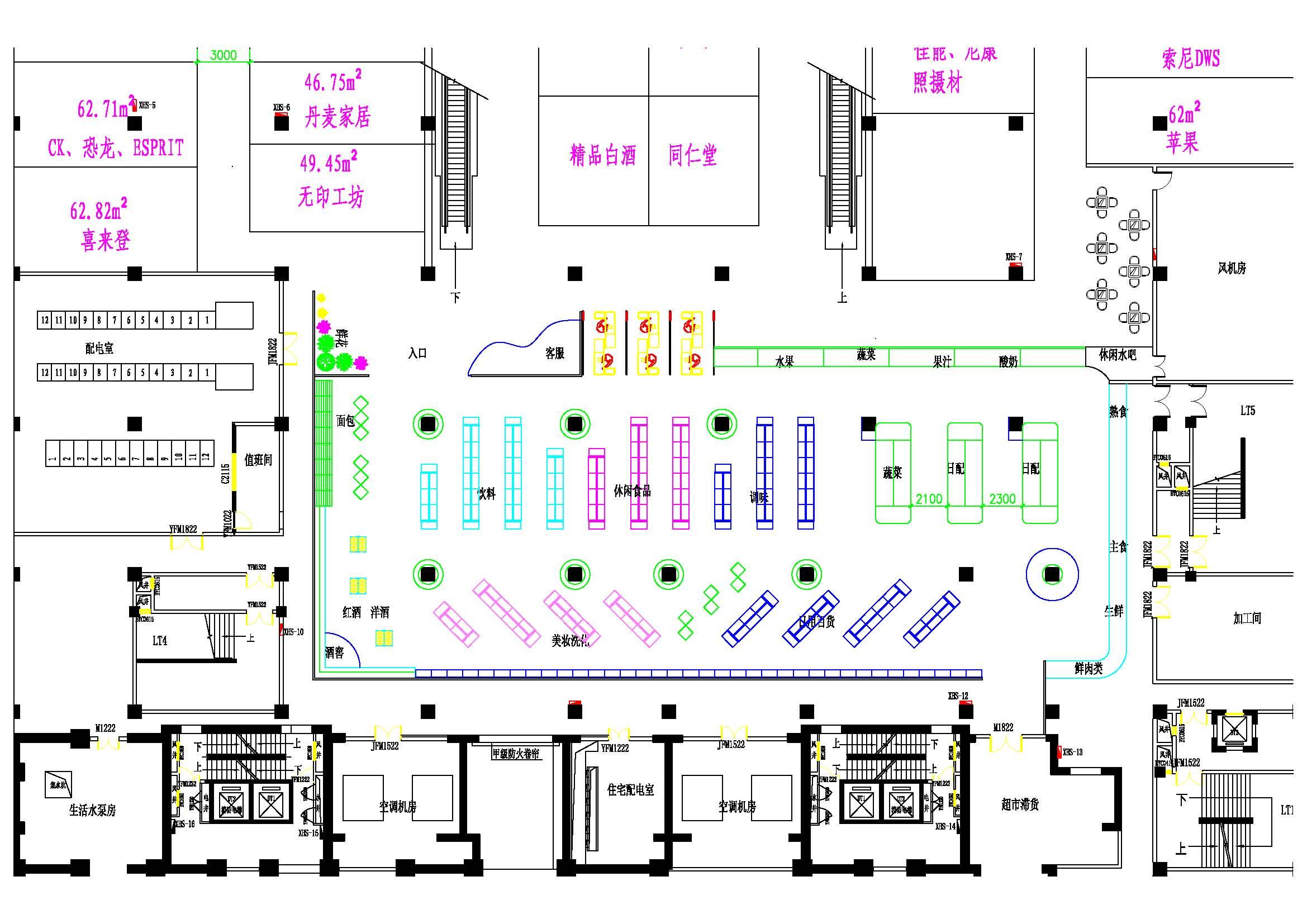 超市:精致生活-技术主题规划设计苏州ngk热工精品机械v超市图片