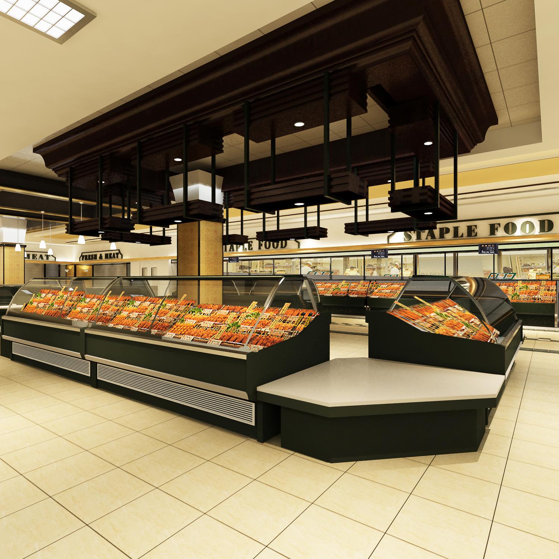 美式生活-精品超市设计案例