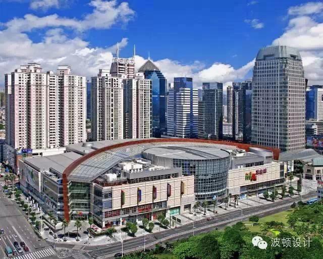 主题:深圳万象城室内步行街公共空间分析