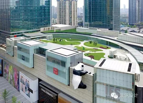 联商论坛 - 贴子    坐落在商场七层的空中花园,雕塑庭院和艺术展览馆