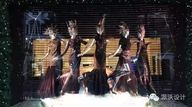 主题:看看外国的圣诞橱窗设计!创意赞爆了