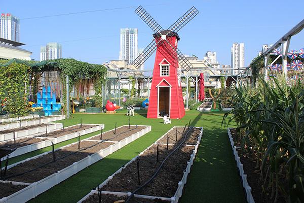 武汉凯德西城——城市屋顶海盗主题乐园