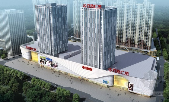 主题:荆州万达广场设计方案解说