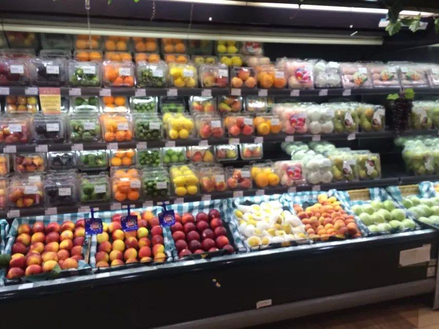 主题:北京华联精品超市水果,蔬菜精美陈列赏析