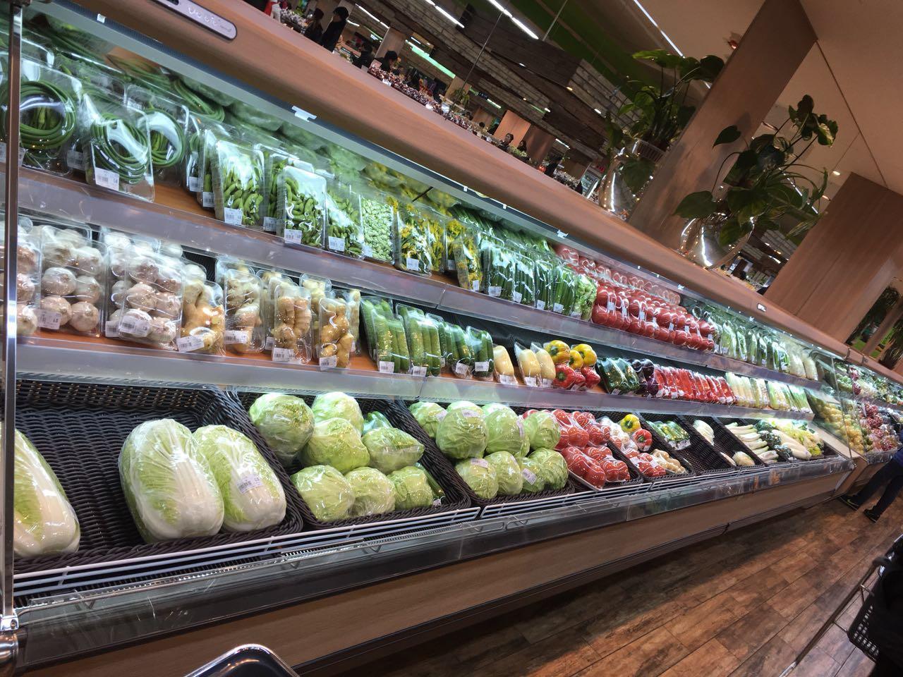 超市蔬果陈列图片